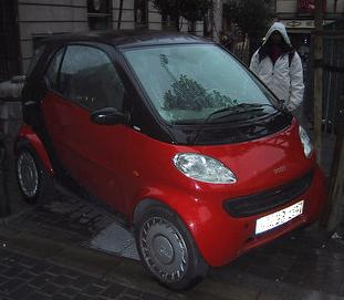 It's Another Smart Car!