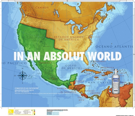 Absolute vodka reconquers SW U.S. for Mexico